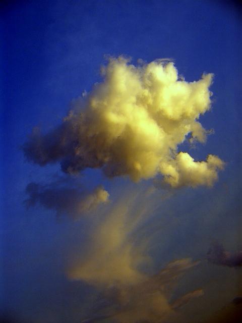 Wolkenbild reizt Fantasie 1