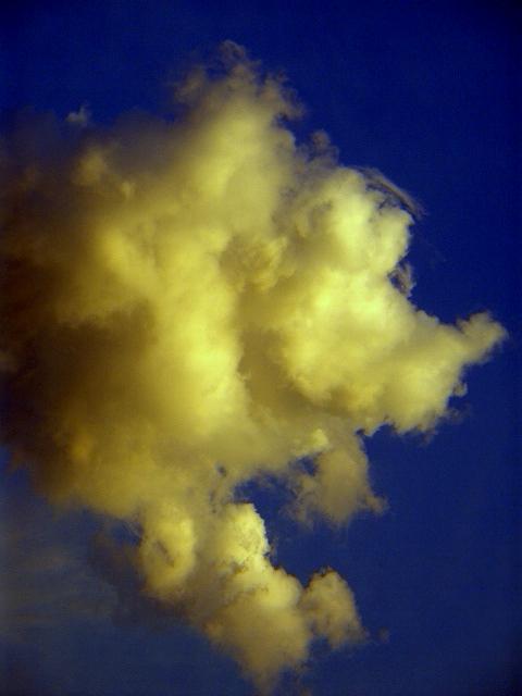 Wolkenbild reizt Fantasie