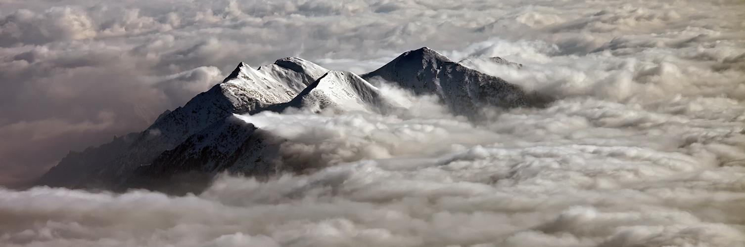 Wolkenbrandung am Estergebirge