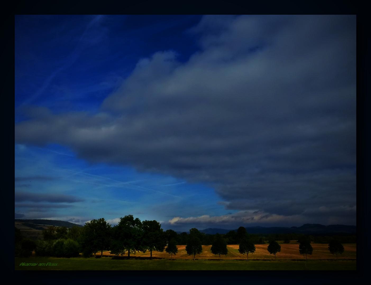 Wolkendecke am Abend