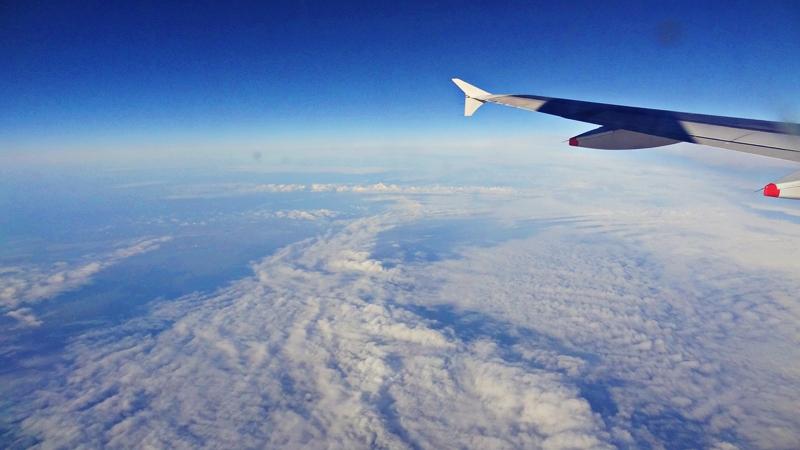 Wolkendecke über Deutschland