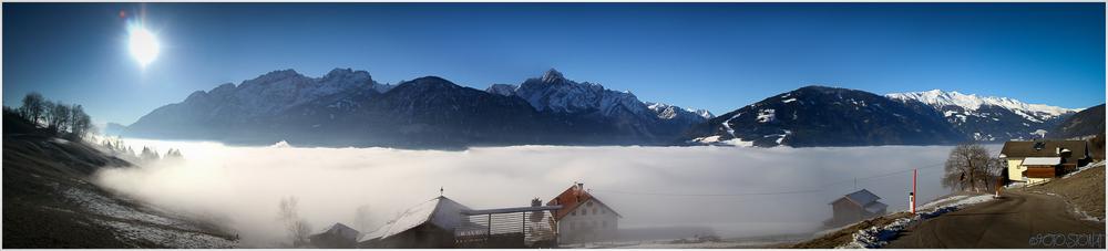 Wolkendecke überm Lienzer Talboden