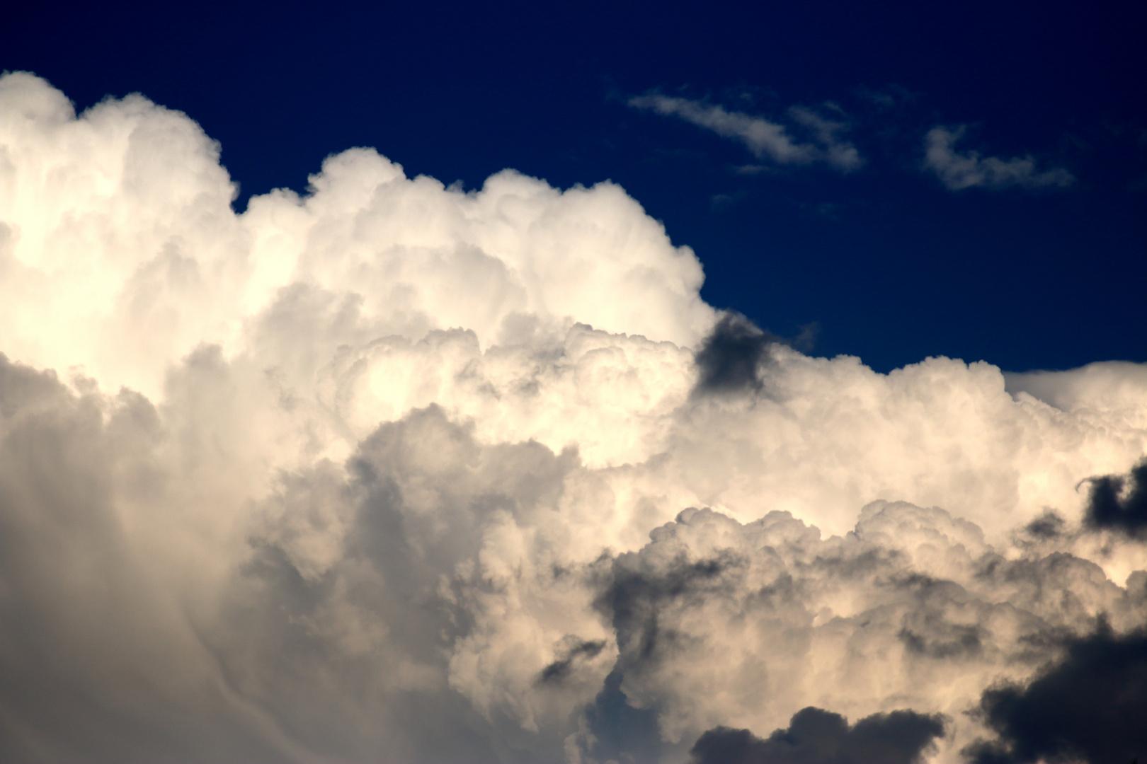 Wolkenformation vor einem Gewitter