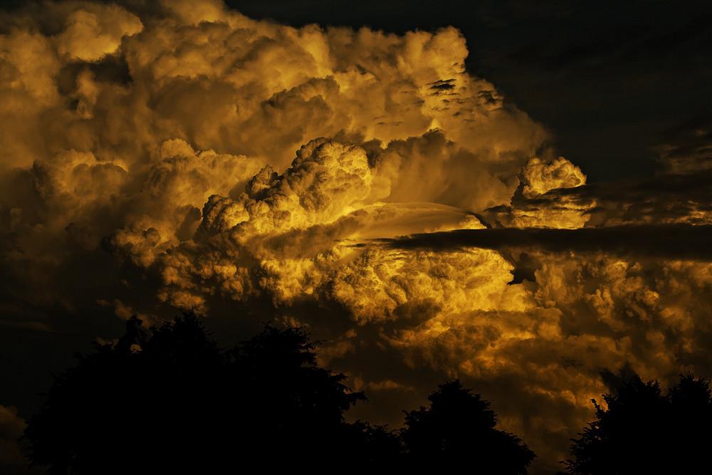 Wolkenfront.