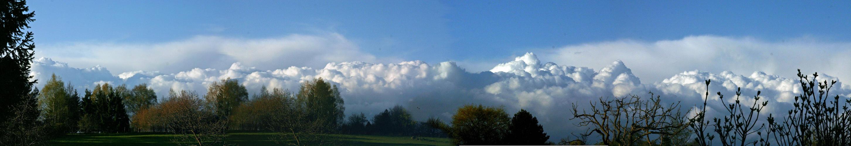 Wolkengebirge
