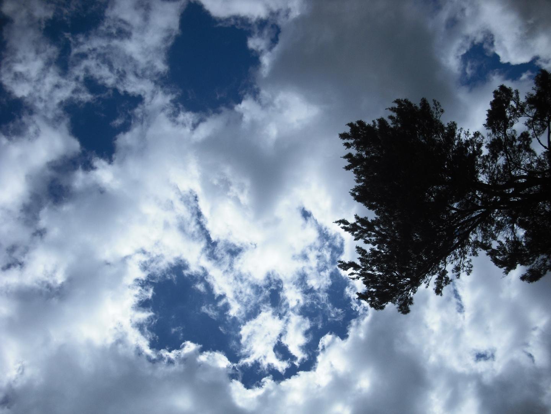 Wolkengrimasse