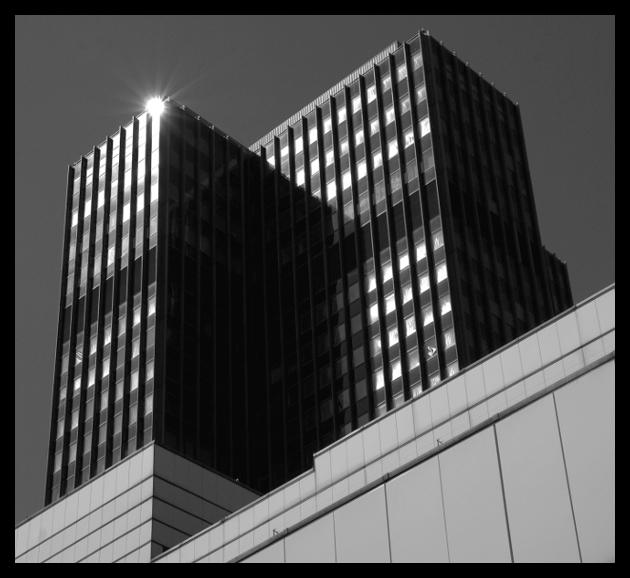 Wolkenkratzer ohne Wolken