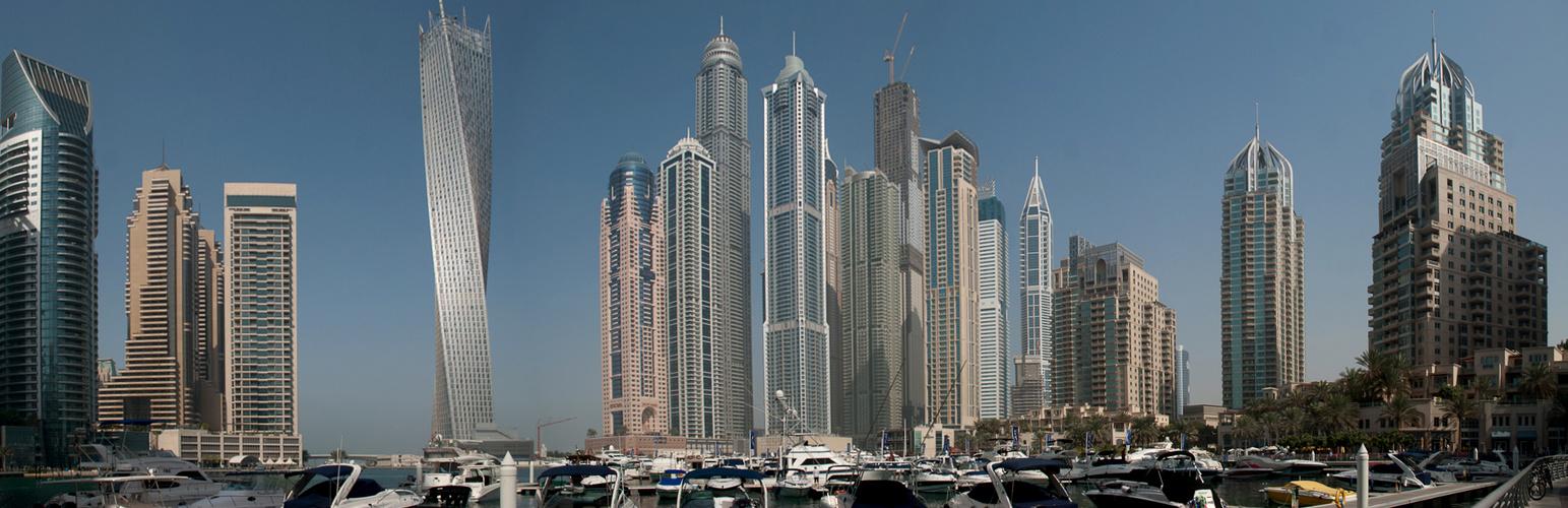 Wolkenkratzer Panorama