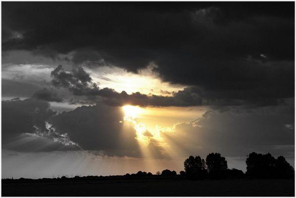 Wolkenlücke