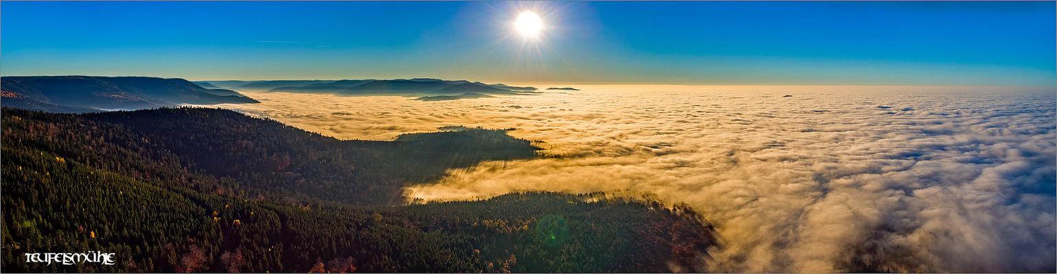 Wolkenmeer Teufelsmühle