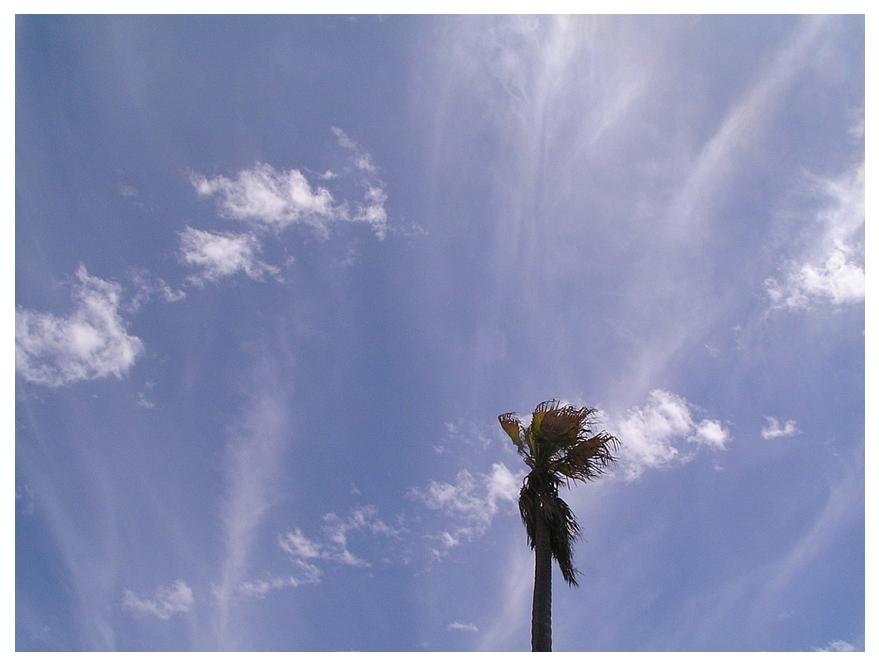 Wolkenpinsel