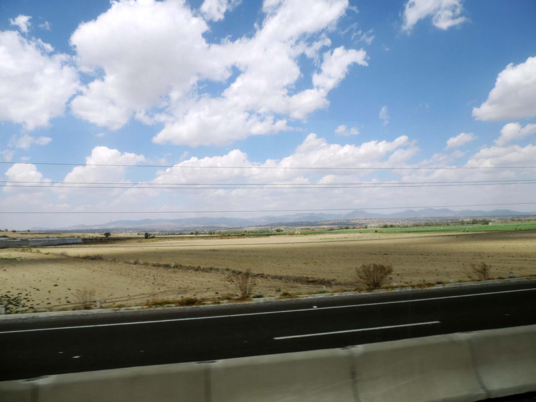 Wolkenpracht an der Autobahn