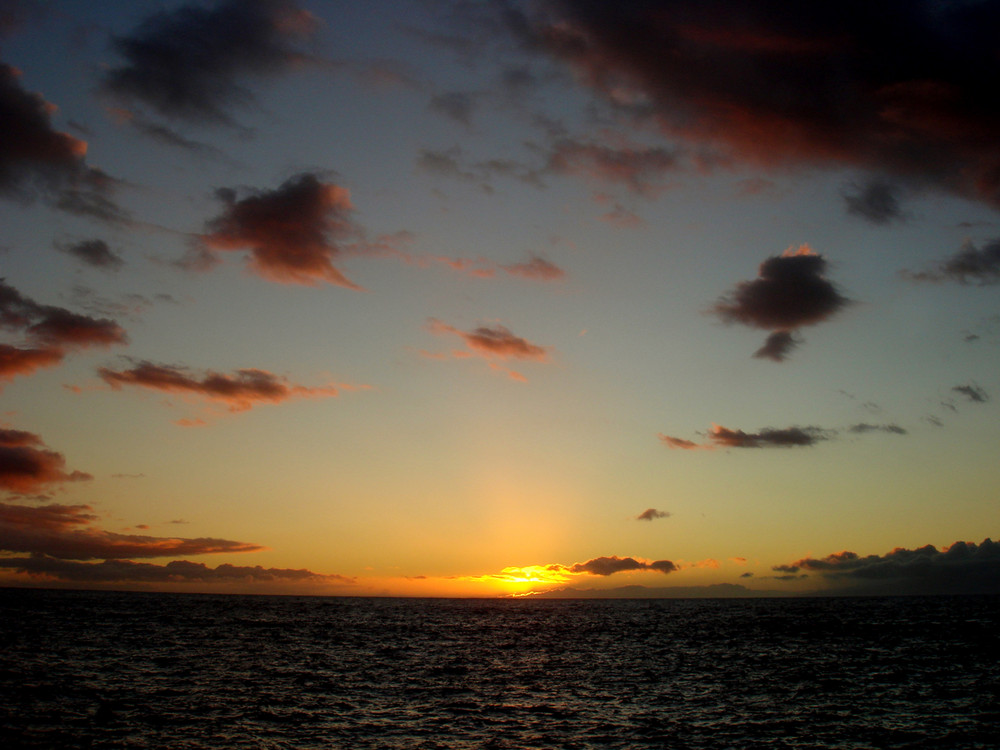 Wolkenreicher Horizont