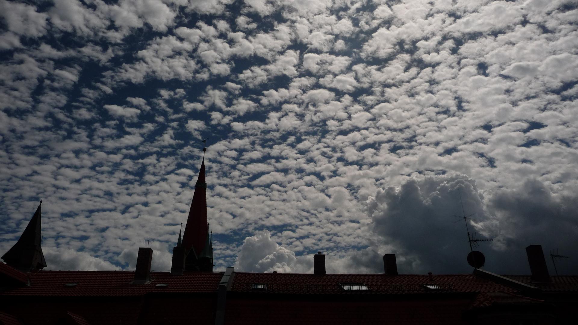 Wolkenschwarm
