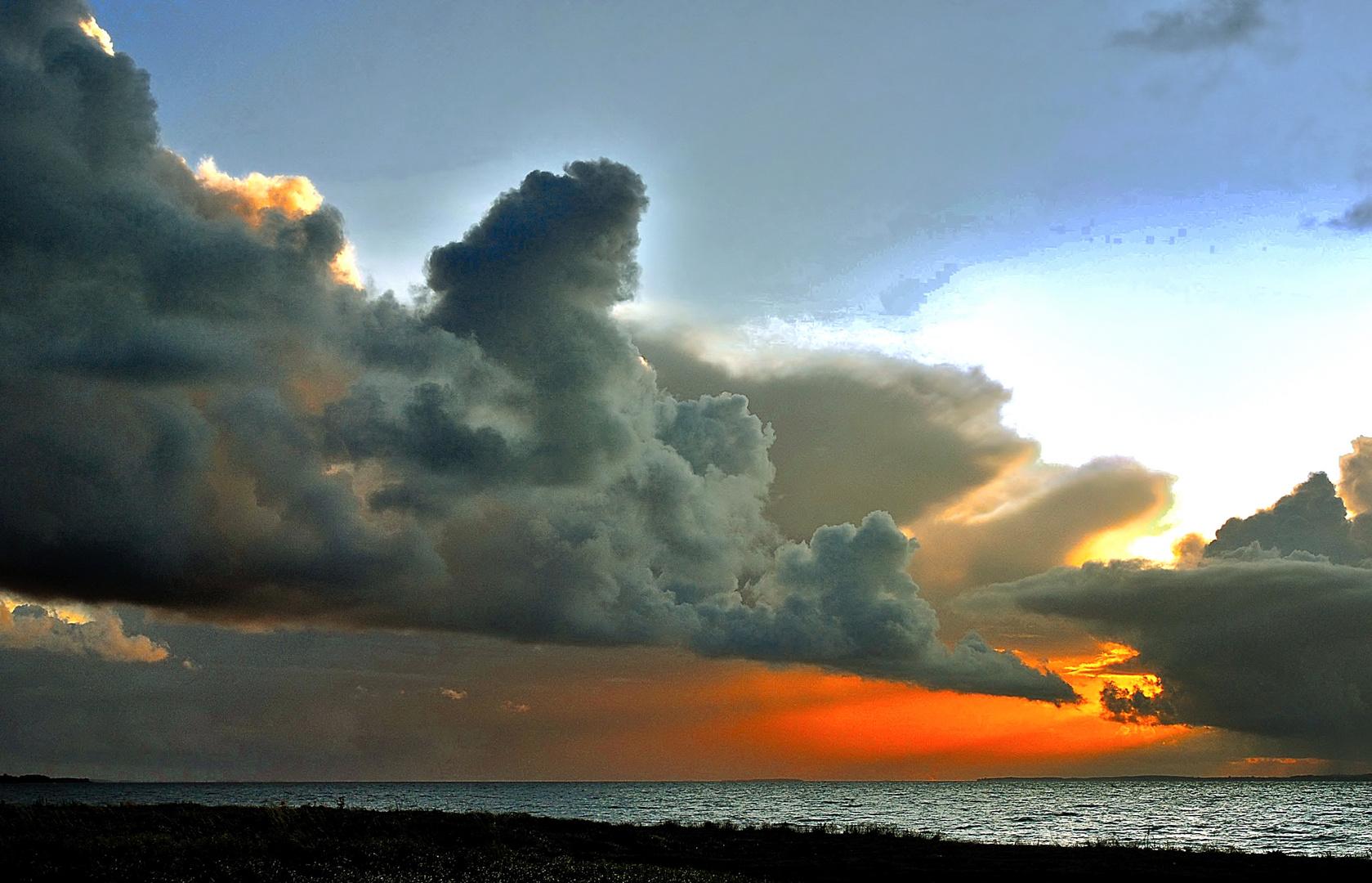 Wolkenspiel...