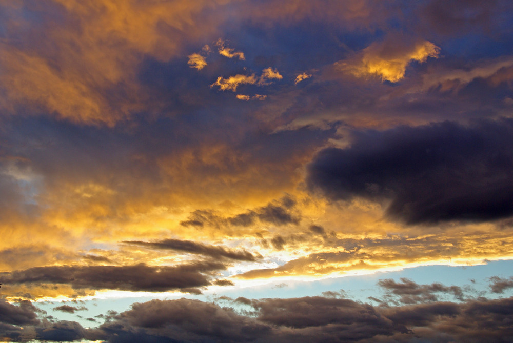 Wolkenspiele am Faaker See