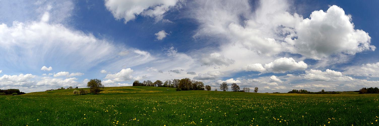 Wolkenstimmung ...