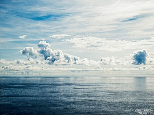 Wolkenstimmung auf Ibiza