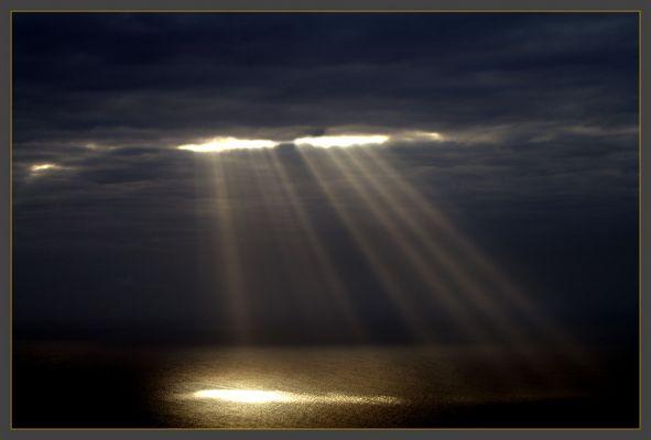 Wolkenstimmung über dem Meer II