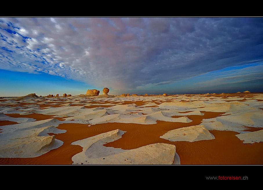 Wolkenstrasse der Weissen Wüste