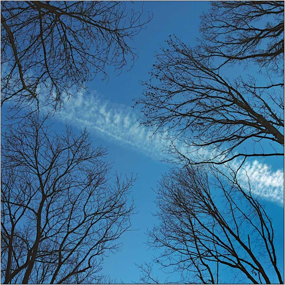 Wolkenstreifen...