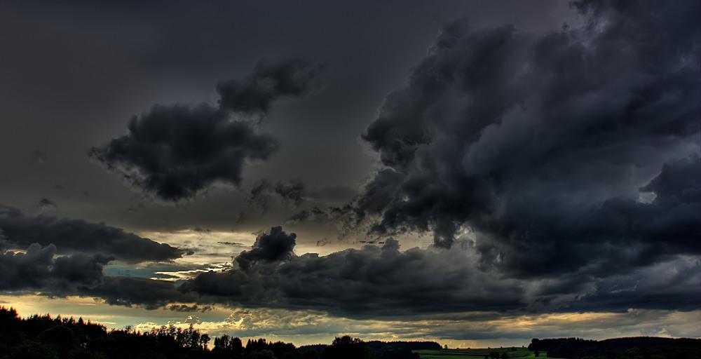 Wolkenstudie in Otterkring IV