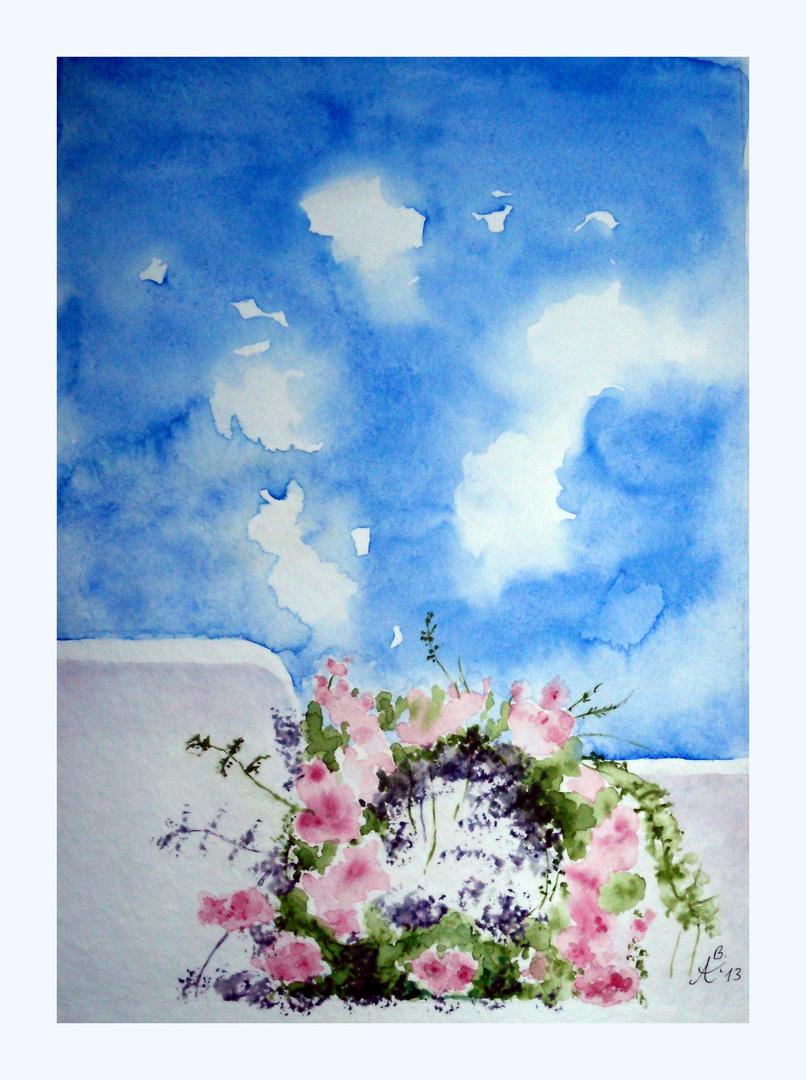 """""""Wolkentanz"""" über """" Blütenkranz """""""