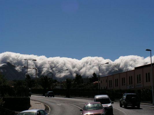 Wolkentsunami über El Paso