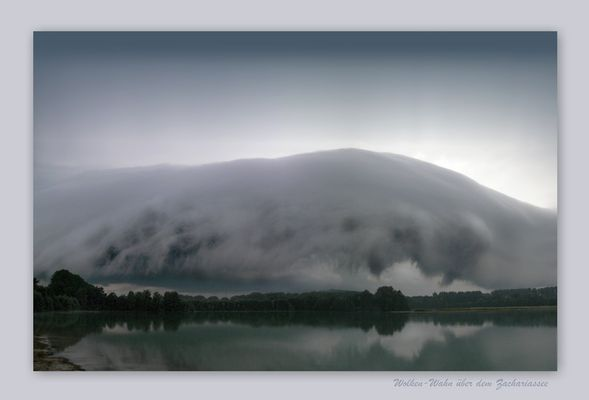 Wolken_Wahn über dem Zachariassee (Lippstadt - Lipperode)