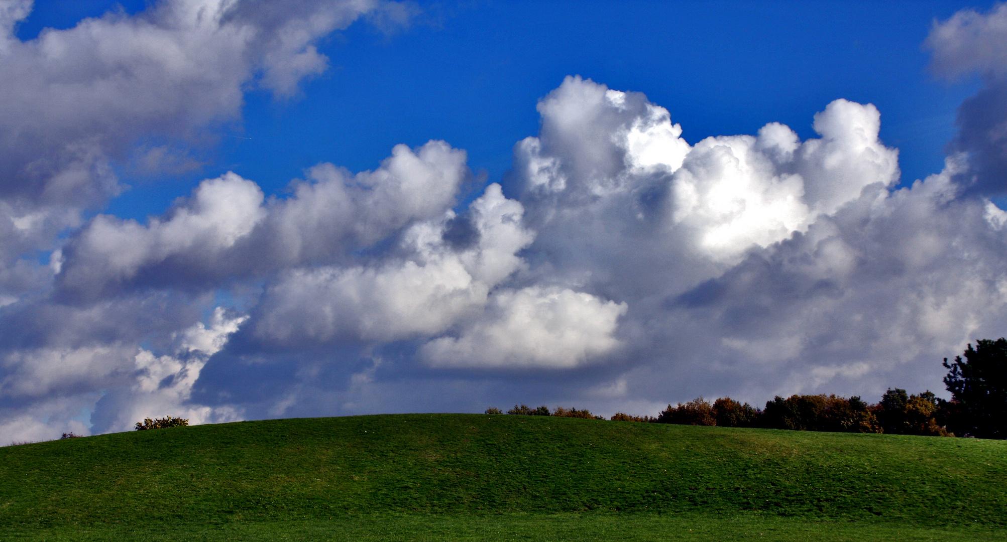 Wolkenwetter...