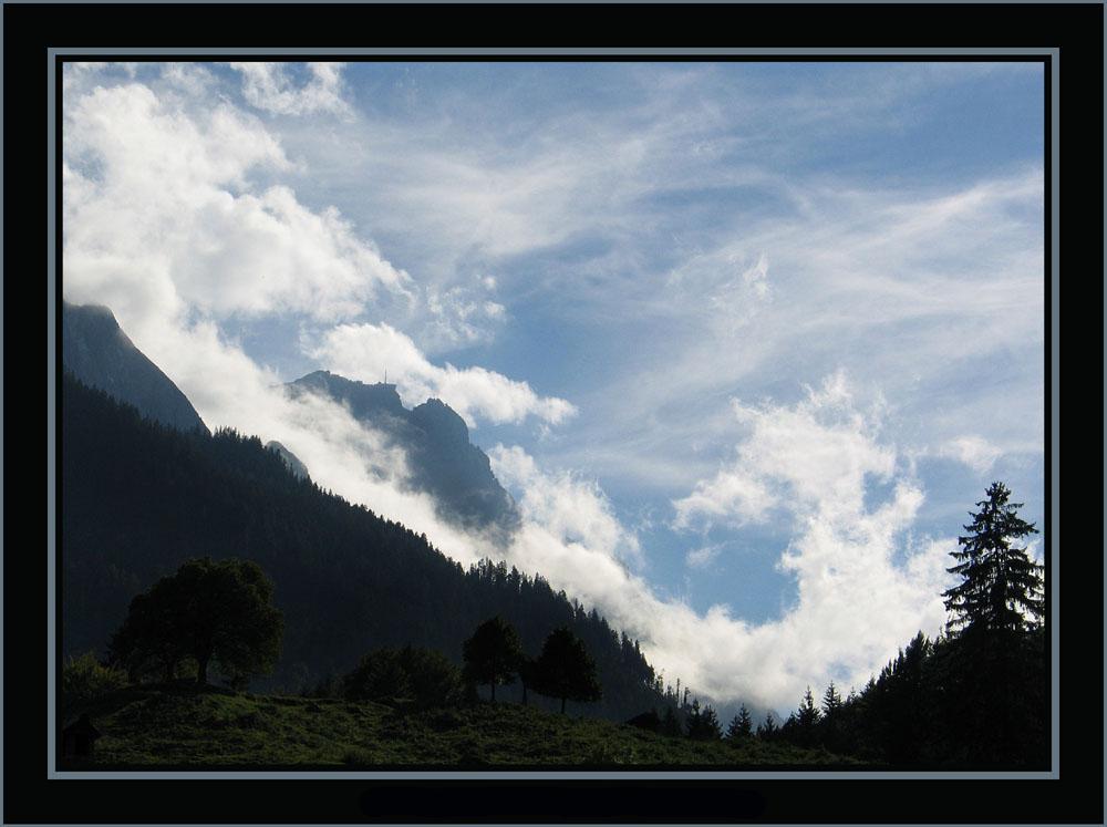 Wolken...wie gemalt....