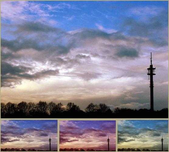 Wolkenzauberei von F. F.