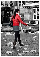 Woman in red II