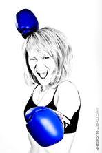 woman punch