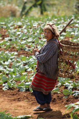 Women at Karen Village - North Thailand