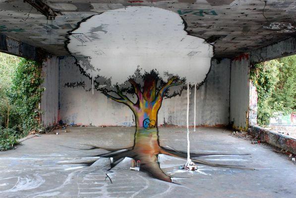 Wonderful 3d street artwork