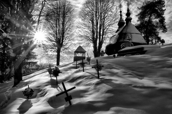 Wood church Inovce