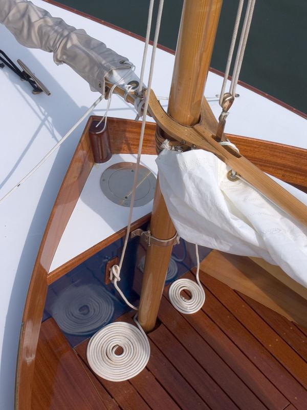 Wooden Sail Boat