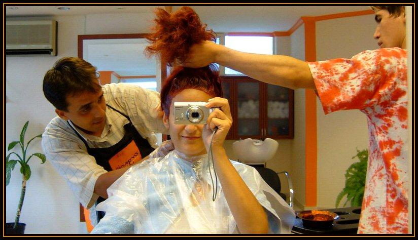 working(me&my coiffeur Ecvet)