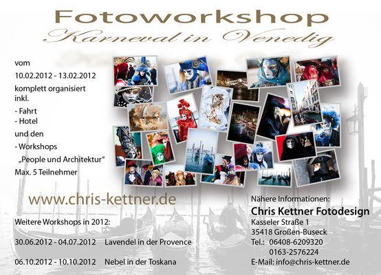 """Workshop """"Karneval in Venedig"""""""
