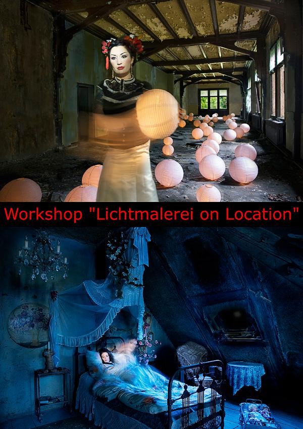 """Workshop """"Lichtmalerei on Location"""" am 27.03.2011 in Köln"""