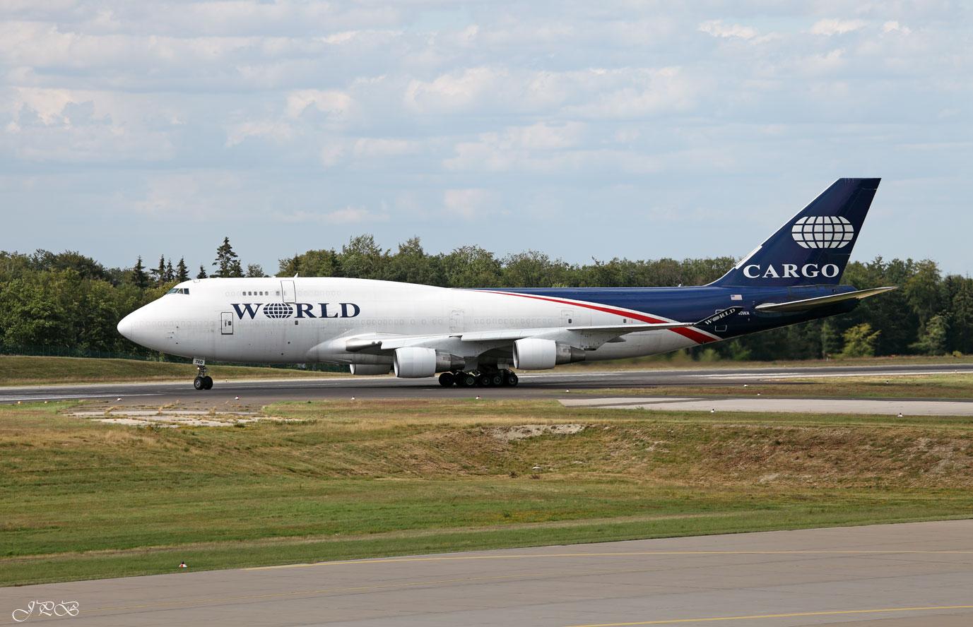 World cargo boeing 747 400 bdsf foto bild motive luft for Interieur 747 cargo