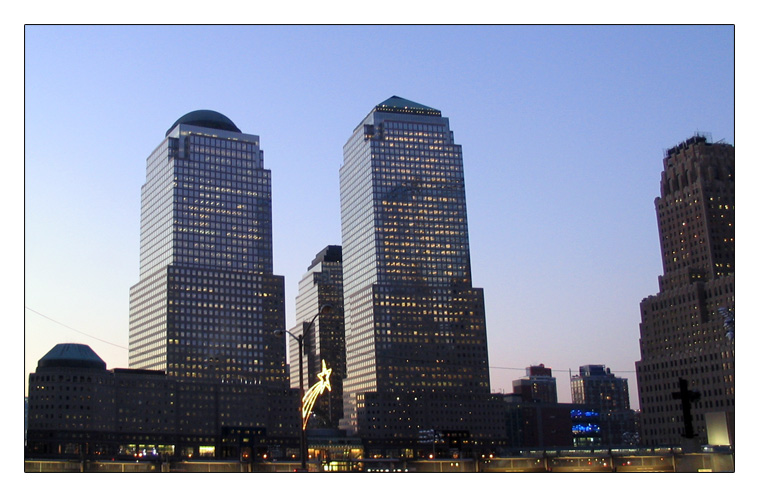 World Financial Center und Ground Zero