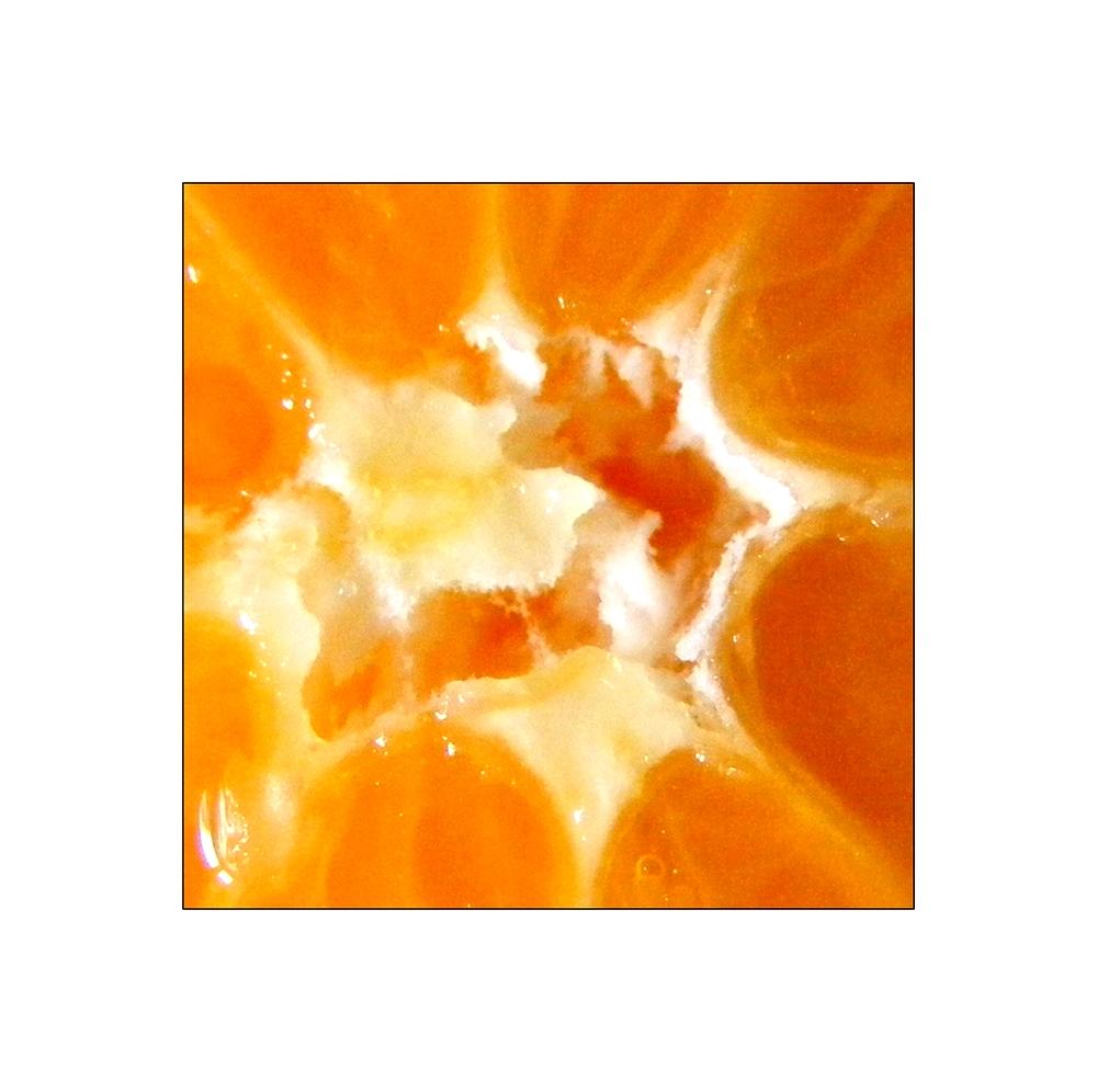 World is an orange