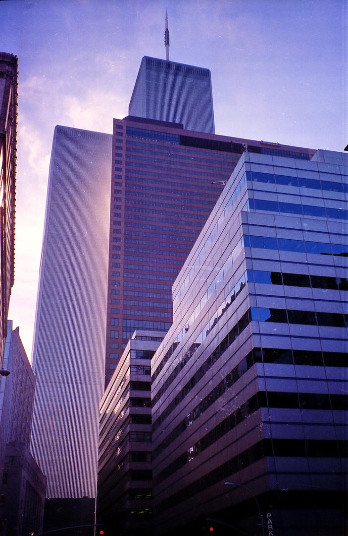 World Trade Center - New York 1996 - von Norden