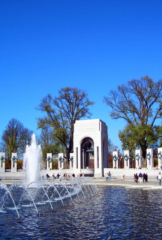 World War 2 Memorial in Washington D.C.