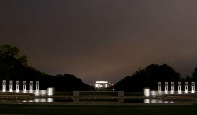 World War II + Lincoln Monument