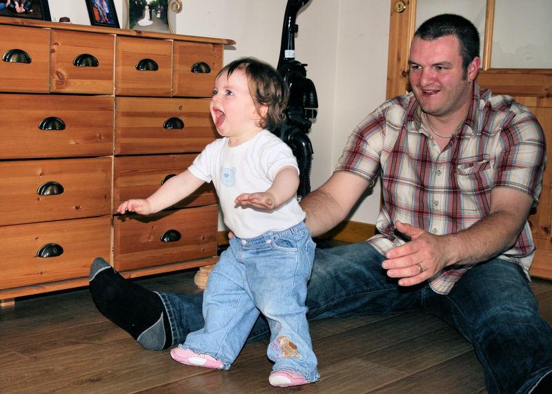 Wow I can walk!!!