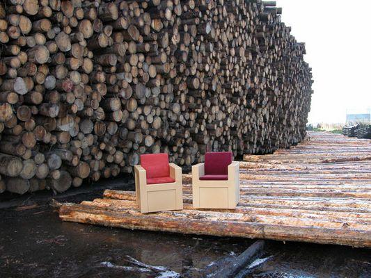 WPC-Sessel auf Rohstoffbesuch