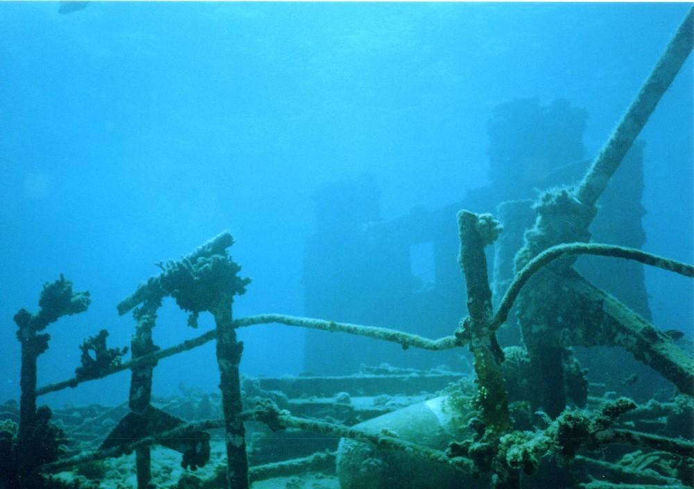 Wrack der Chrissoula-K Rotes Meer